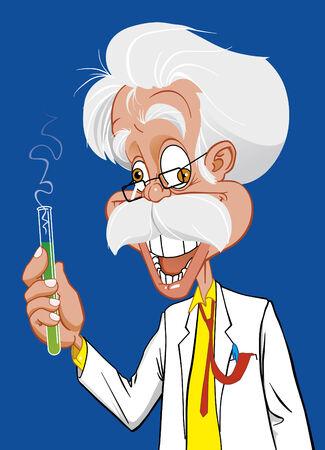 mad man: Mad scientist