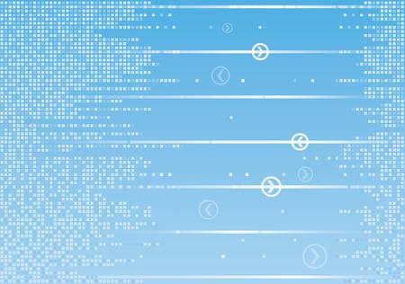 Digital communication background Ilustrace
