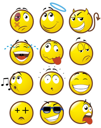 Emoticons 1 Stock Vector - 3662109