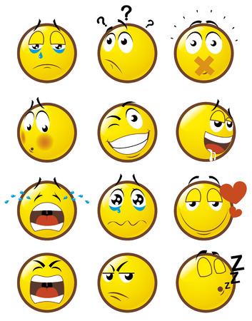 Emoticons 2 Vector