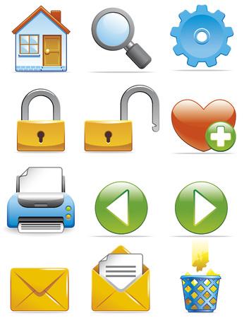 wastebasket: Internet icons