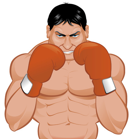 Boxer Illustration