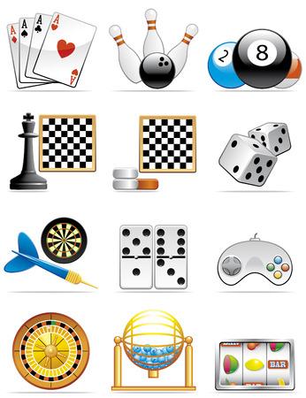 loto: Jeux d'ic�nes Illustration