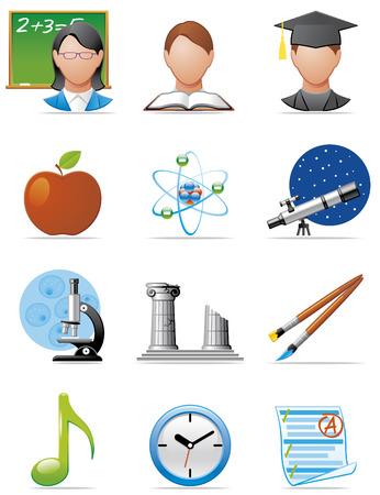 iconos educacion: Educaci�n iconos