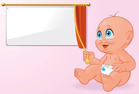 inauguration: Newborn baby inauguration Stock Photo