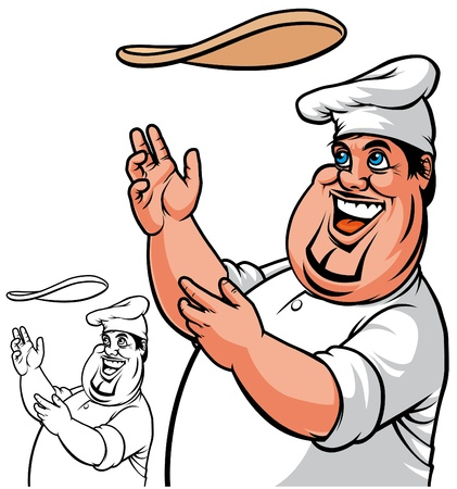 italian pizza: Pizza chef