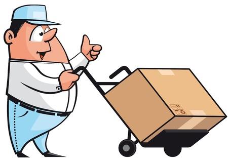 deliveryman: Corriere Archivio Fotografico