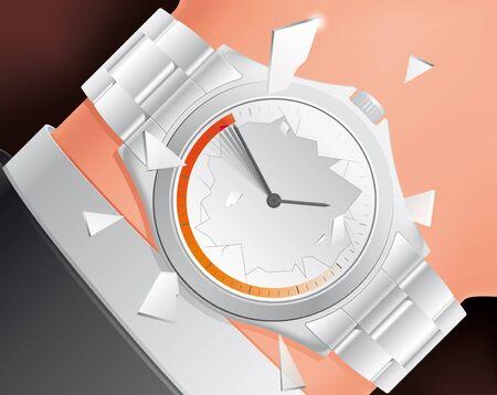 exploit: Stress watch Stock Photo