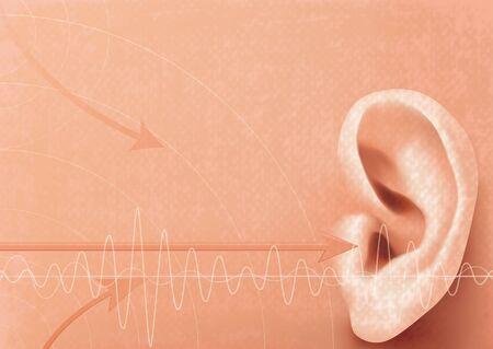 Hearing concept photo