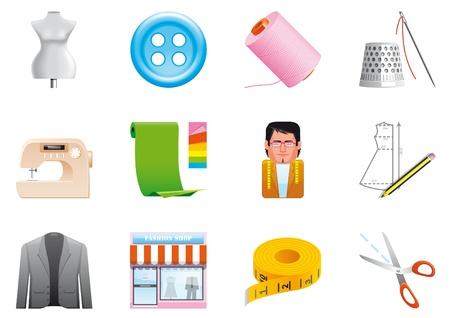 thimble: Textile icons