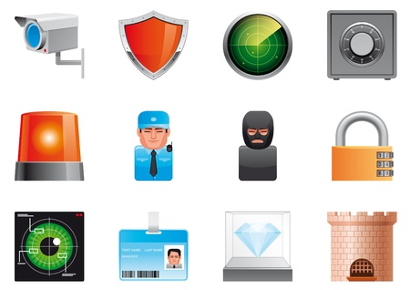Security icons Stock Photo - 13920200