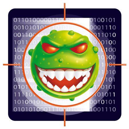 antivirus:  Virus scan