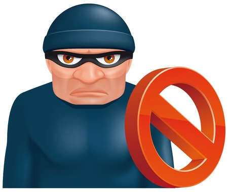 Thief protection Stock Photo - 14528178