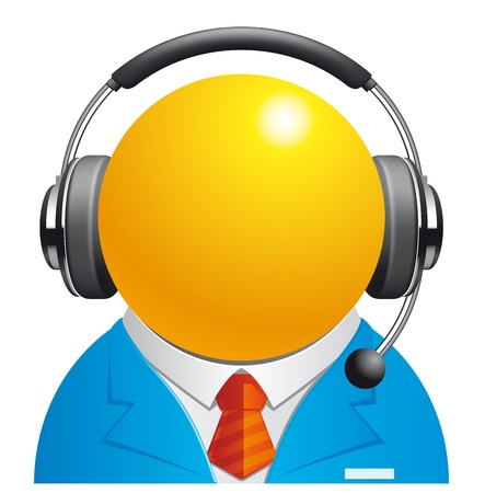 helpdesk: Customer service representative
