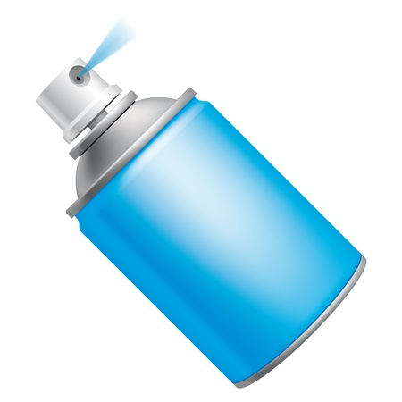 insecticide: Spray can