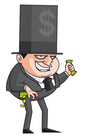 greedy: Evil banker