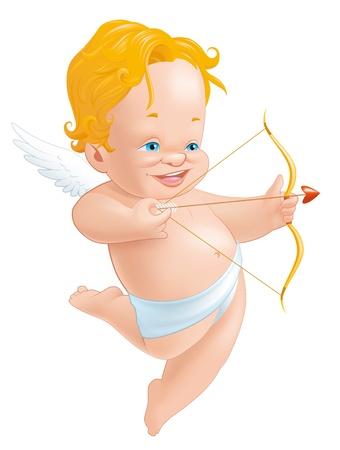 baby angel: Cupido riprese il suo arco