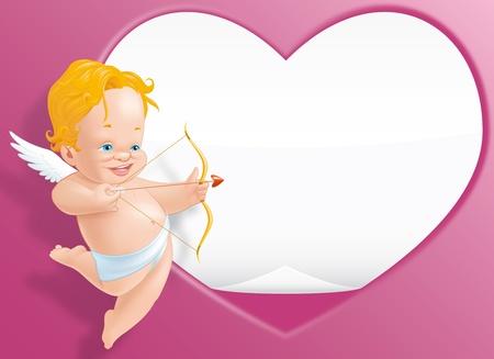 children s: Valentine day card
