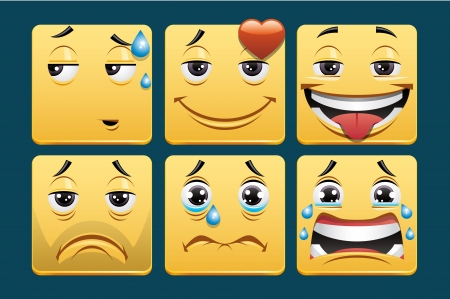 sad love: Emoticons