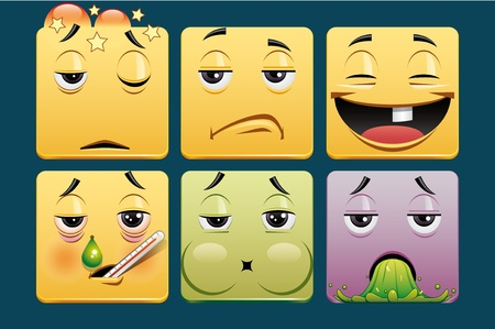grippe: Emoticons