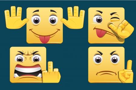 mockery: Emoticons
