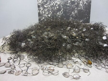confiscated: Spectacles Confiscated from Inmates of Auschwitz