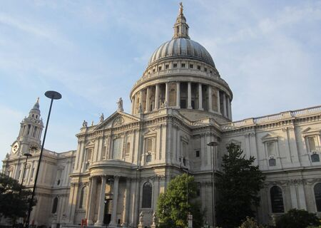st paul s cathedral: St Paul s Cathedral London City England Protests