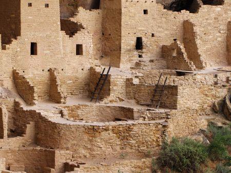 Cliff Palace at Mesa verde national park                photo
