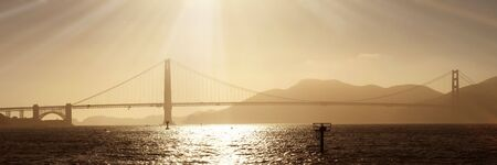 Golden Gate at San Francisco Stock Photo