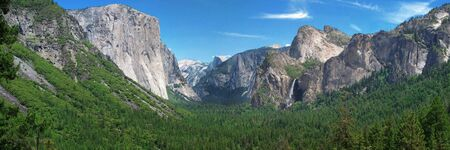 overview at Yosemite National Park