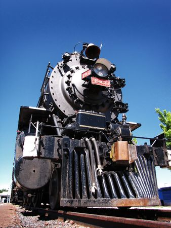 historical locomotive used in the past century at Grand Canyon National Park Stock Photo
