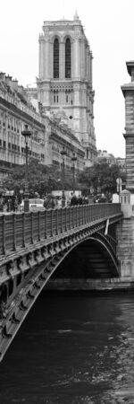 historical center of Paris city
