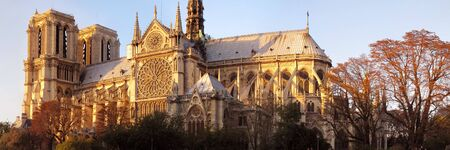 famous main church in Paris during sunset Stock Photo - 5906142