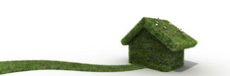 sustainable house Stock Photo - 6552652