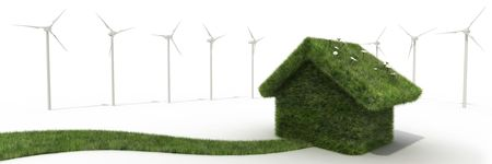 windfarm: sustainable house