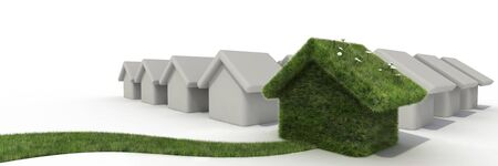 sustainable house Stock Photo - 6552653
