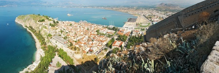 nauplio: Nafplio panoramic view