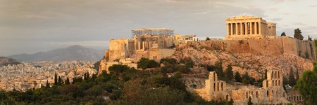 acropolis panoramic view photo