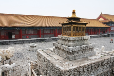 detai: forbidden city detai Stock Photo