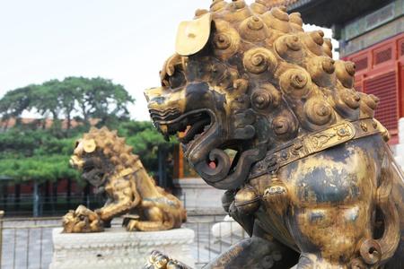 forbidden city: forbidden city detail Stock Photo