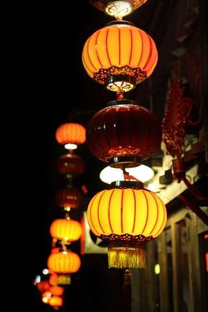 oriental lantern Stock Photo