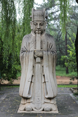 ming: ming statue