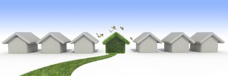 sustainable house photo