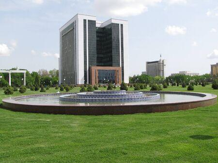 main park at Tashkent