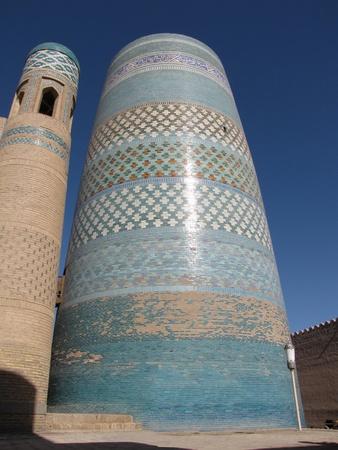 minaret at khiva photo