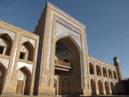 madrasah at khiva photo