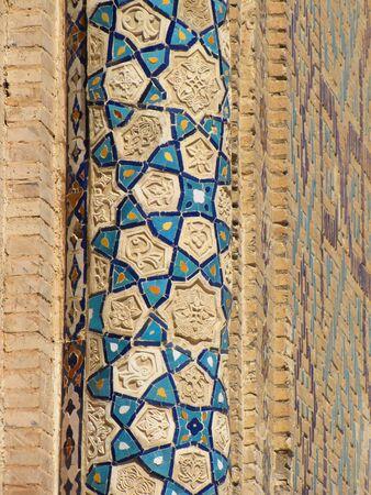 decorated column photo