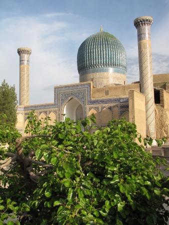 samarkand: Gur-e Amir Mausoleum in Samarkand Stock Photo