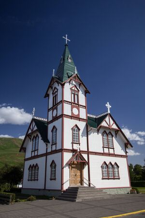 nordic country: heritage church in nordic country