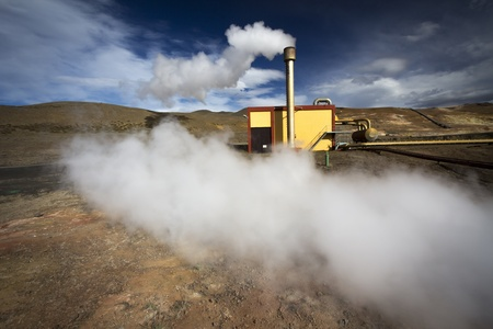 geothermal energy  photo